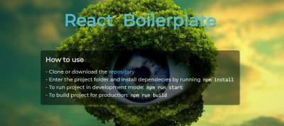 React boilerplate