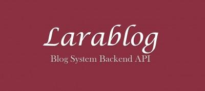 Larablog: бекенд API для системи блогів